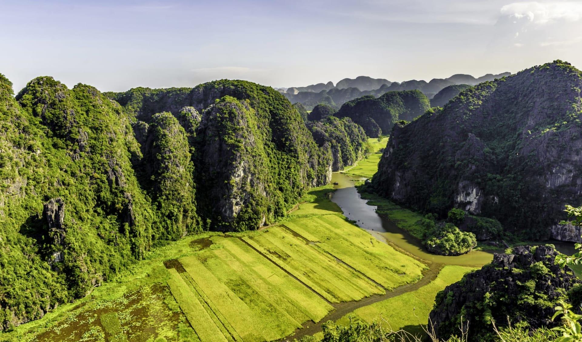Impressionen Nordvietnams & Halong Bay Kreuzfahrt ab Hanoi: Tam Coc Bich Dong