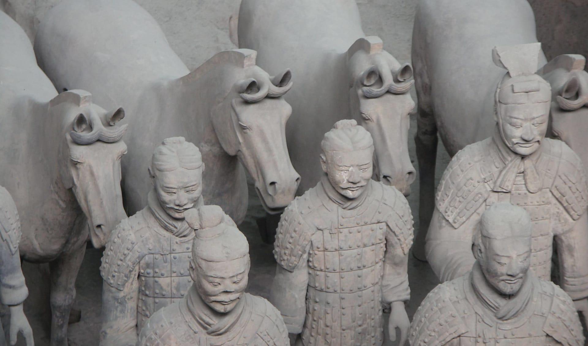 Auf den Spuren Marco Polos entlang der Seidenstrasse ab Peking: Terrakotta-Armee II