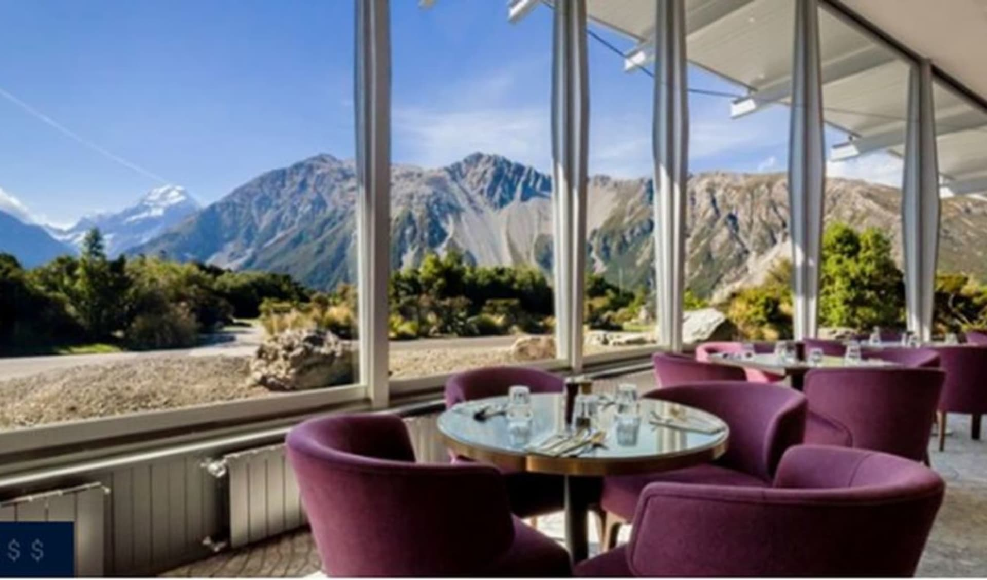 The Hermitage Hotel in Mount Cook: The Hermitage, Mt Cook Restaurant