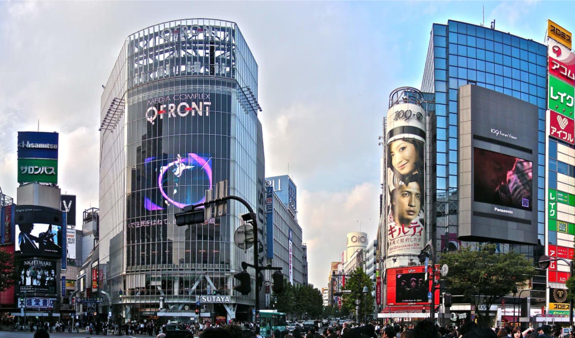 Das Land der aufgehenden Sonne ab Tokio: Tokyo: Shibuya Cross