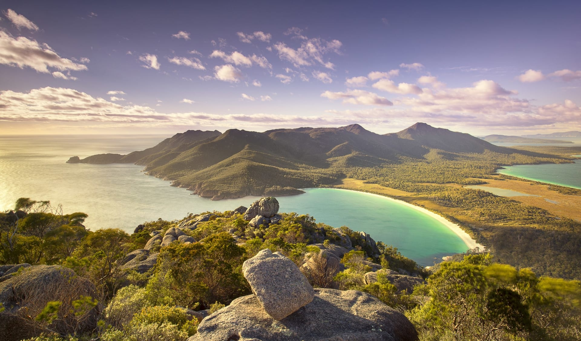 Tasmania Hike & Drive ab Hobart: Top of Amos über Wineglass Bay