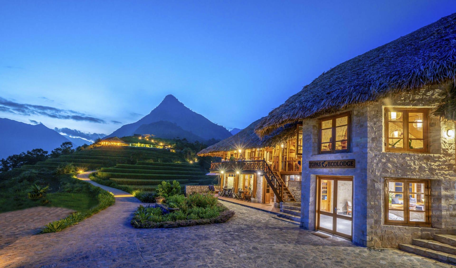Natur & Kultur rund um Sapa ab Hanoi: Topas Eco Lodge Property