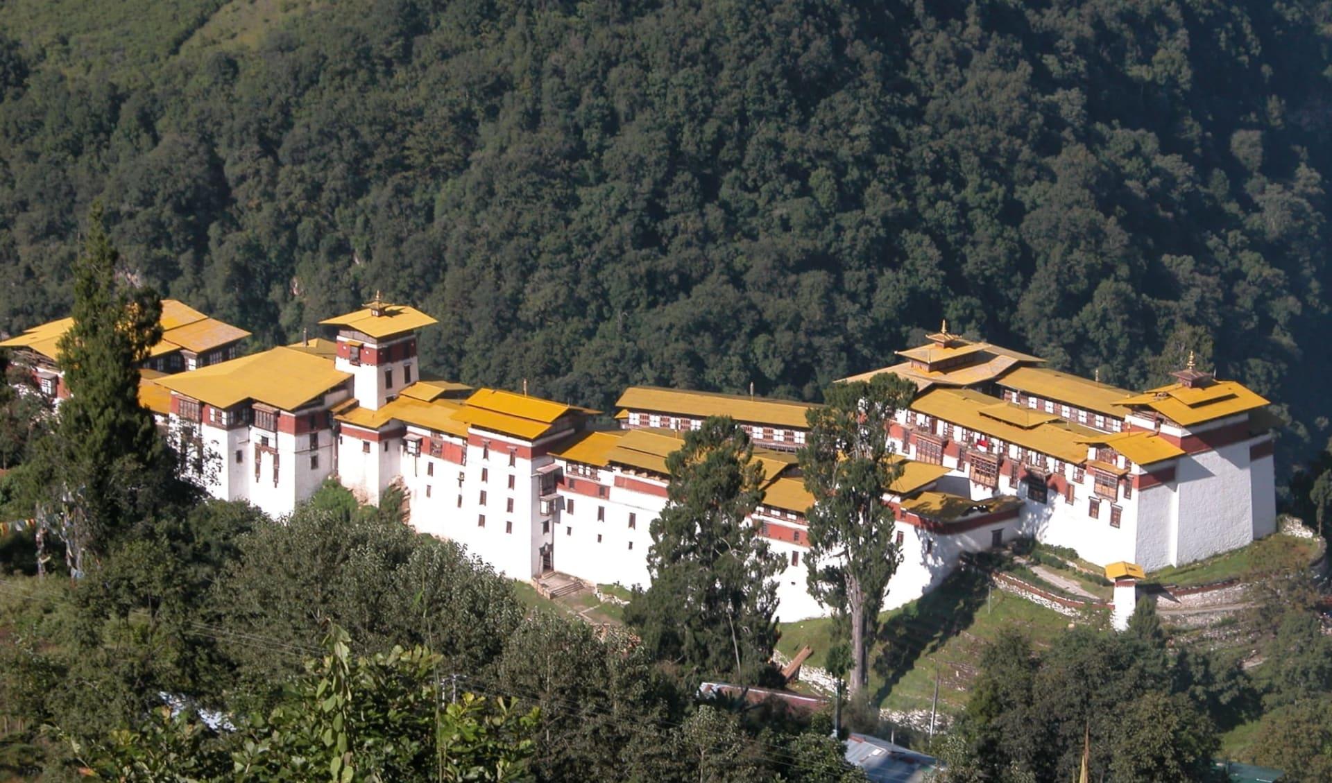 Amankora Bhutan Rundreise ab Paro: Trongsa Dzong