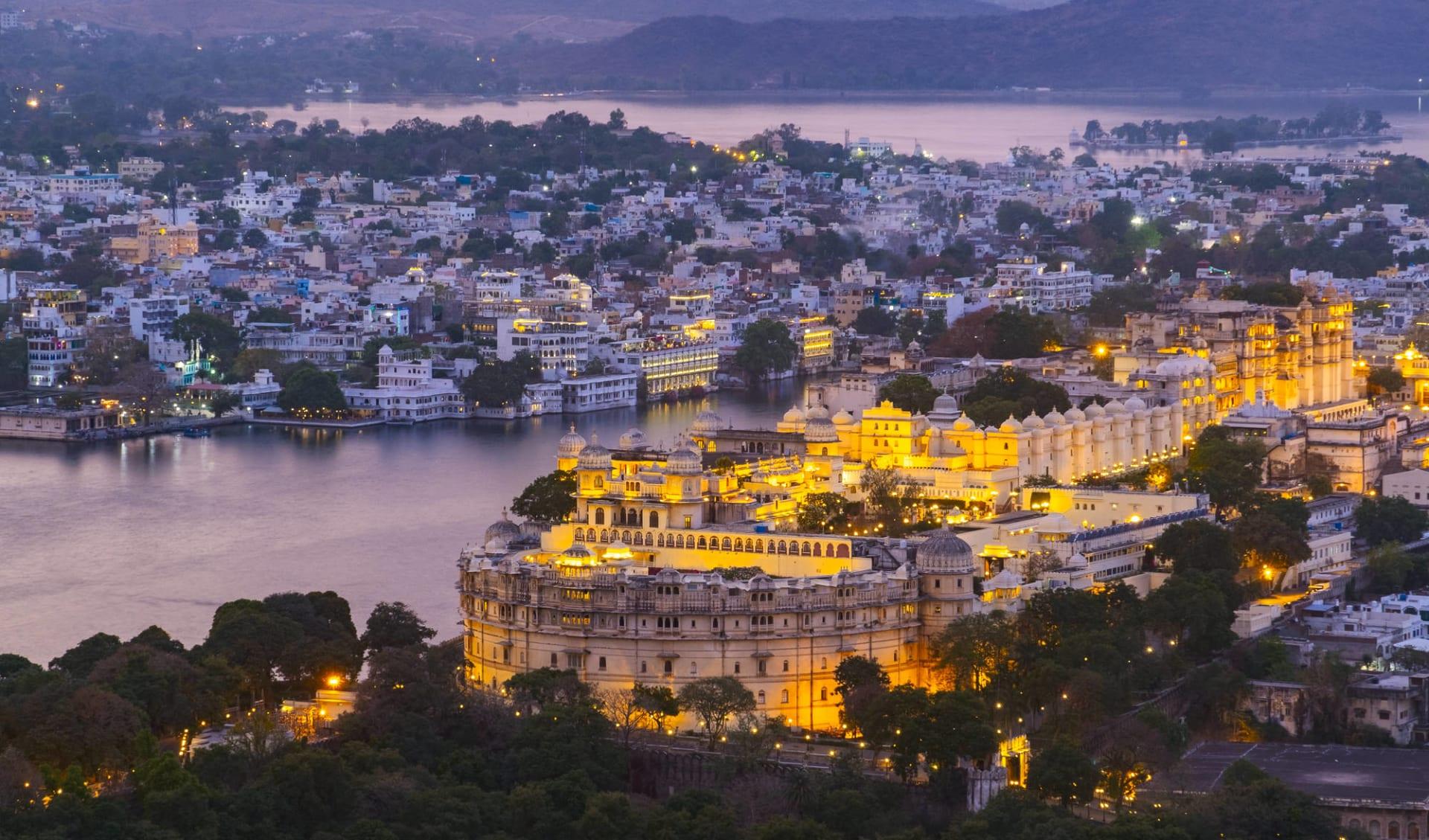 Indien für Geniesser ab Delhi: Udaipur City with Lake Pichola