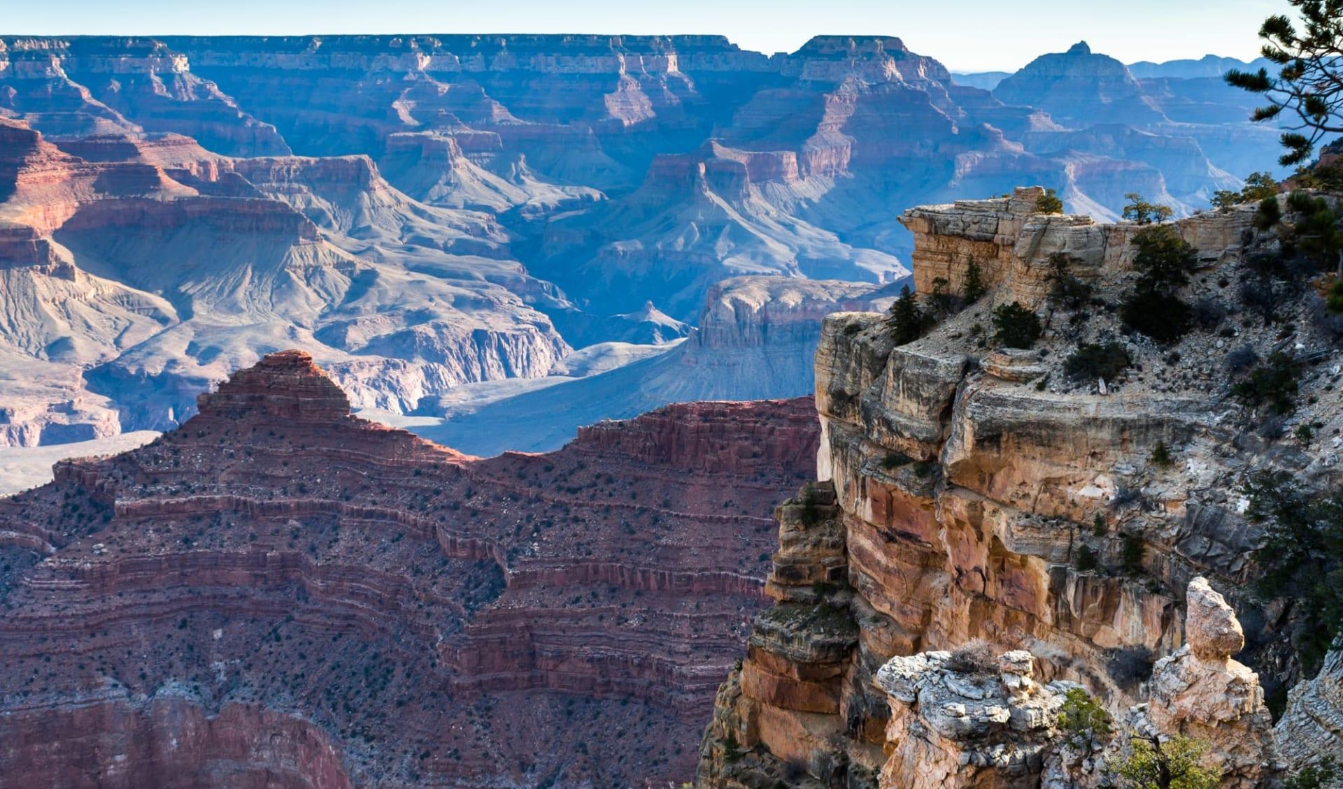 Begleitete Motorradtour: Route 66 ab Chicago: USA - Arizona - Grand Canyon Panorama