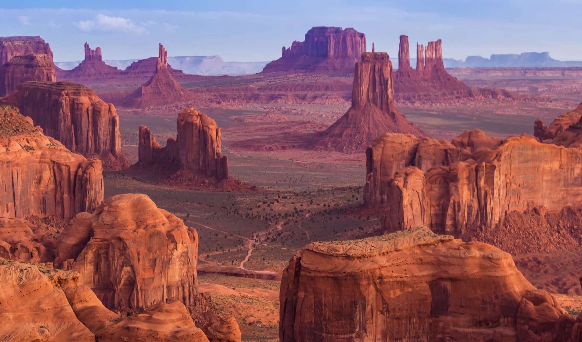 Nationalpark Wanderer ab Las Vegas: Monument Valley