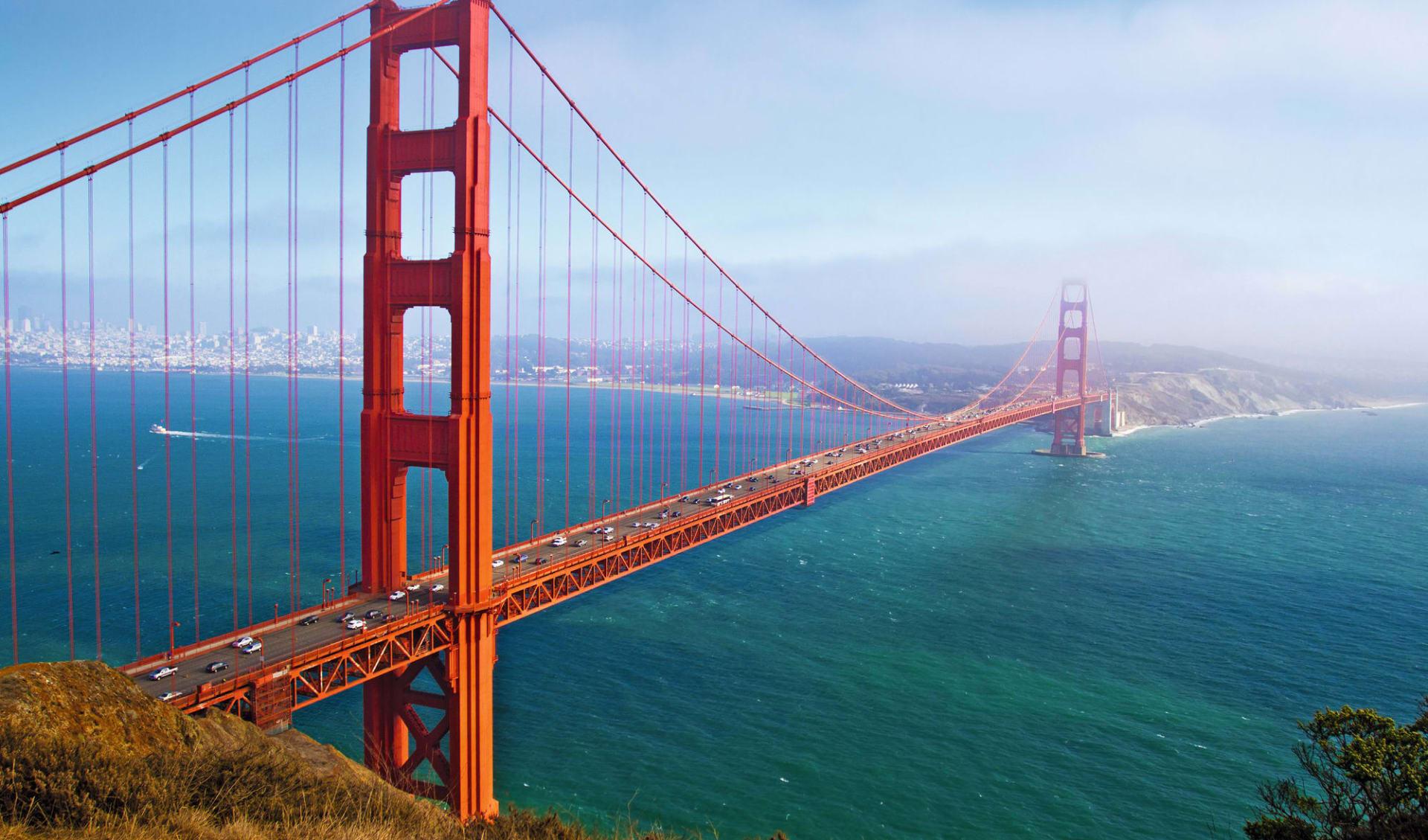 California Dreamin' Deluxe ab Los Angeles: USA - California - Golden Gate Bridge