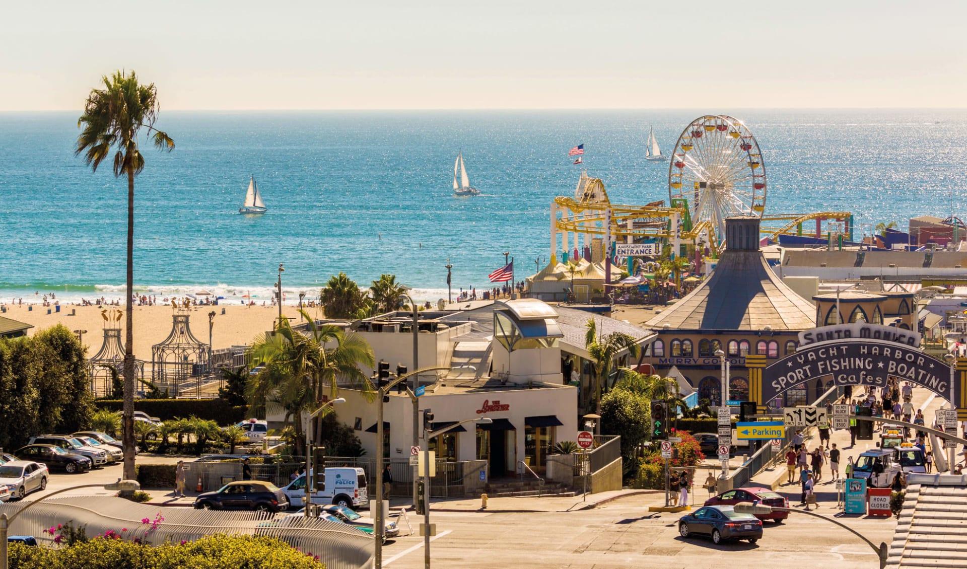 Western Bonanza ab San Francisco: USA - California - Santa Monica