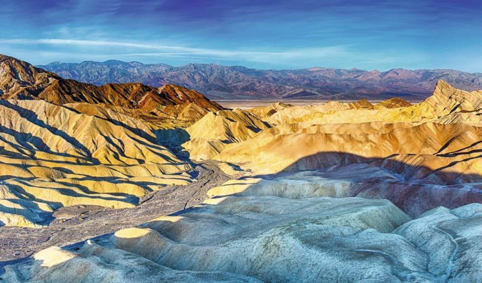 Amerikas Wilder Westen ab Las Vegas: USA - California - Zabriskie Point