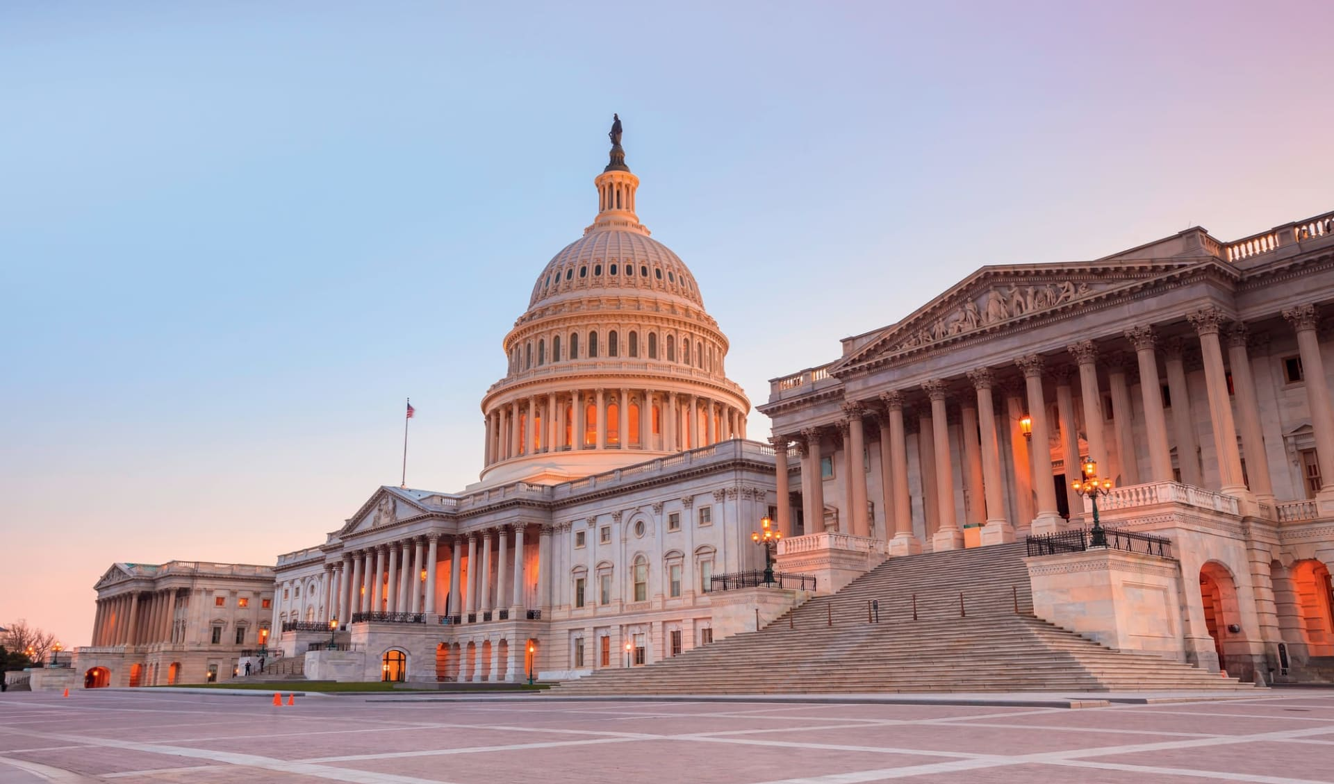Eastern Highlights ab Boston: USA - District of Columbia - Capitol in Washington