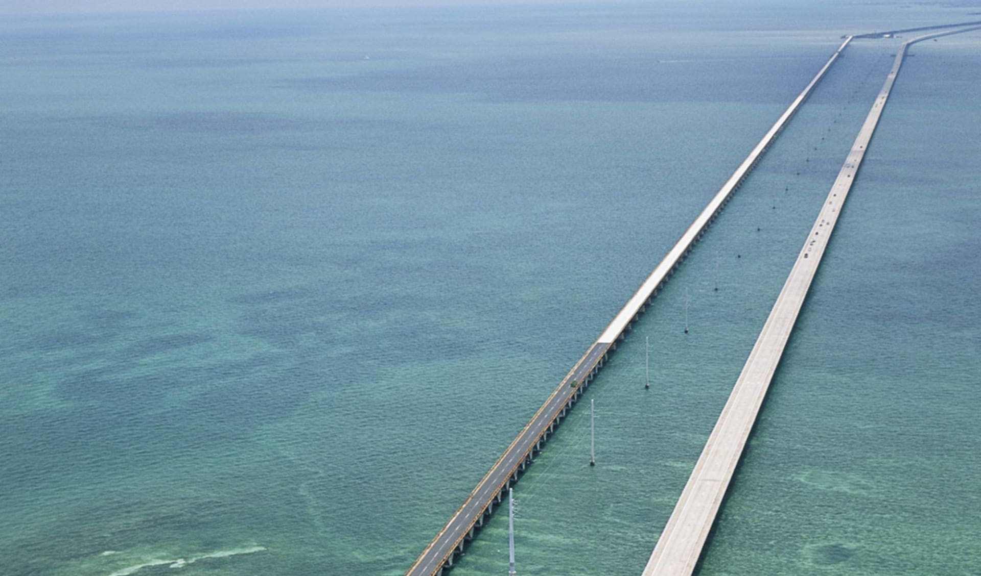 Florida Sunshine ab Miami: USA - Florida -  Seven Mile Bridge