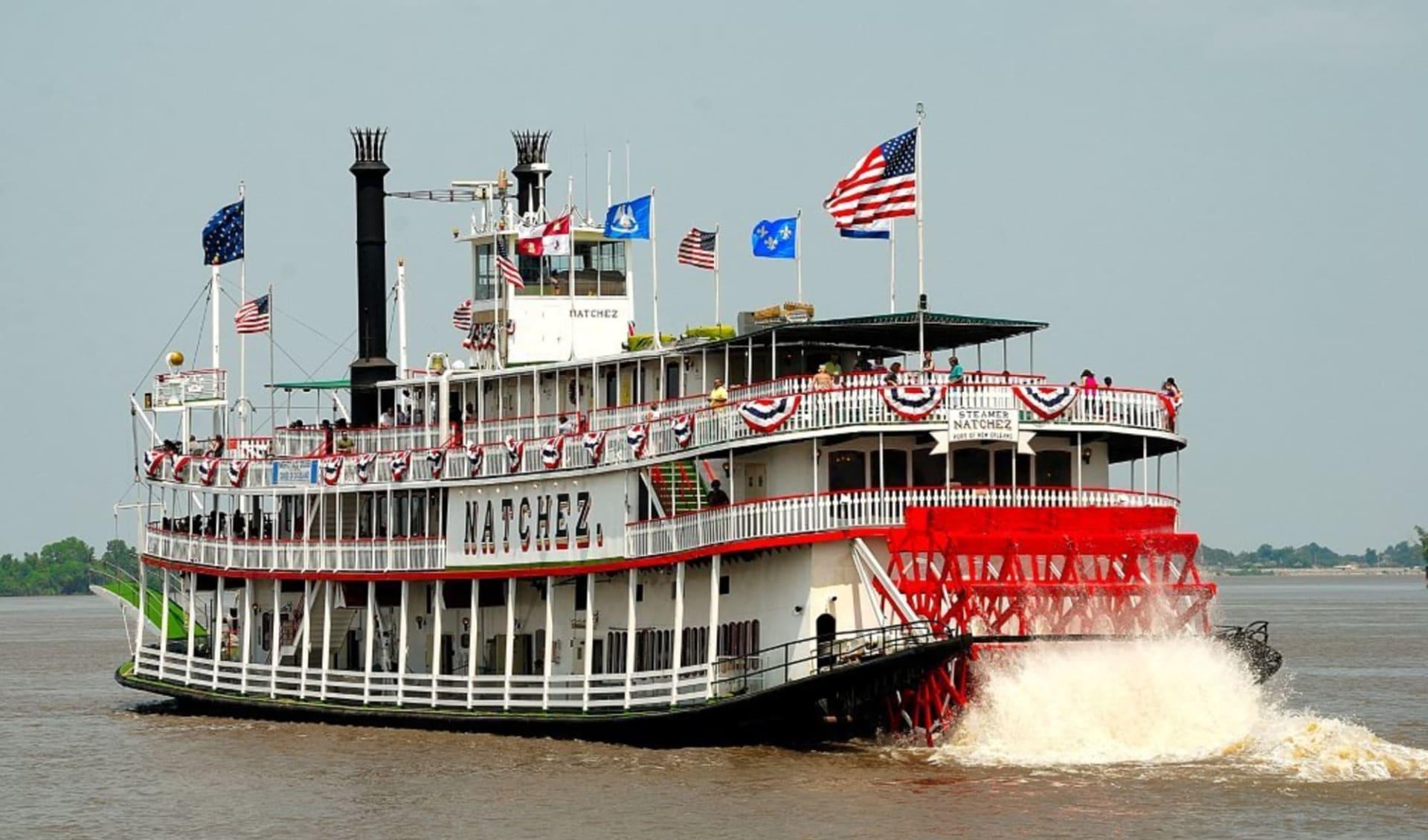 Höhepunkte der Südstaaten ab Atlanta: USA - Louisiana - New Orleans Steamboat