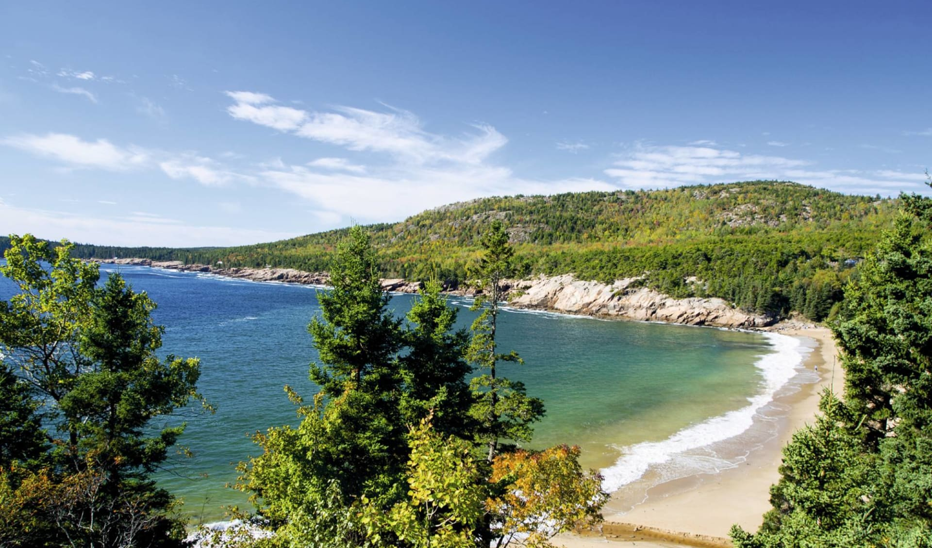 Charming New England ab Boston: USA - Maine - Sand Beach, Acadia Nationalpark
