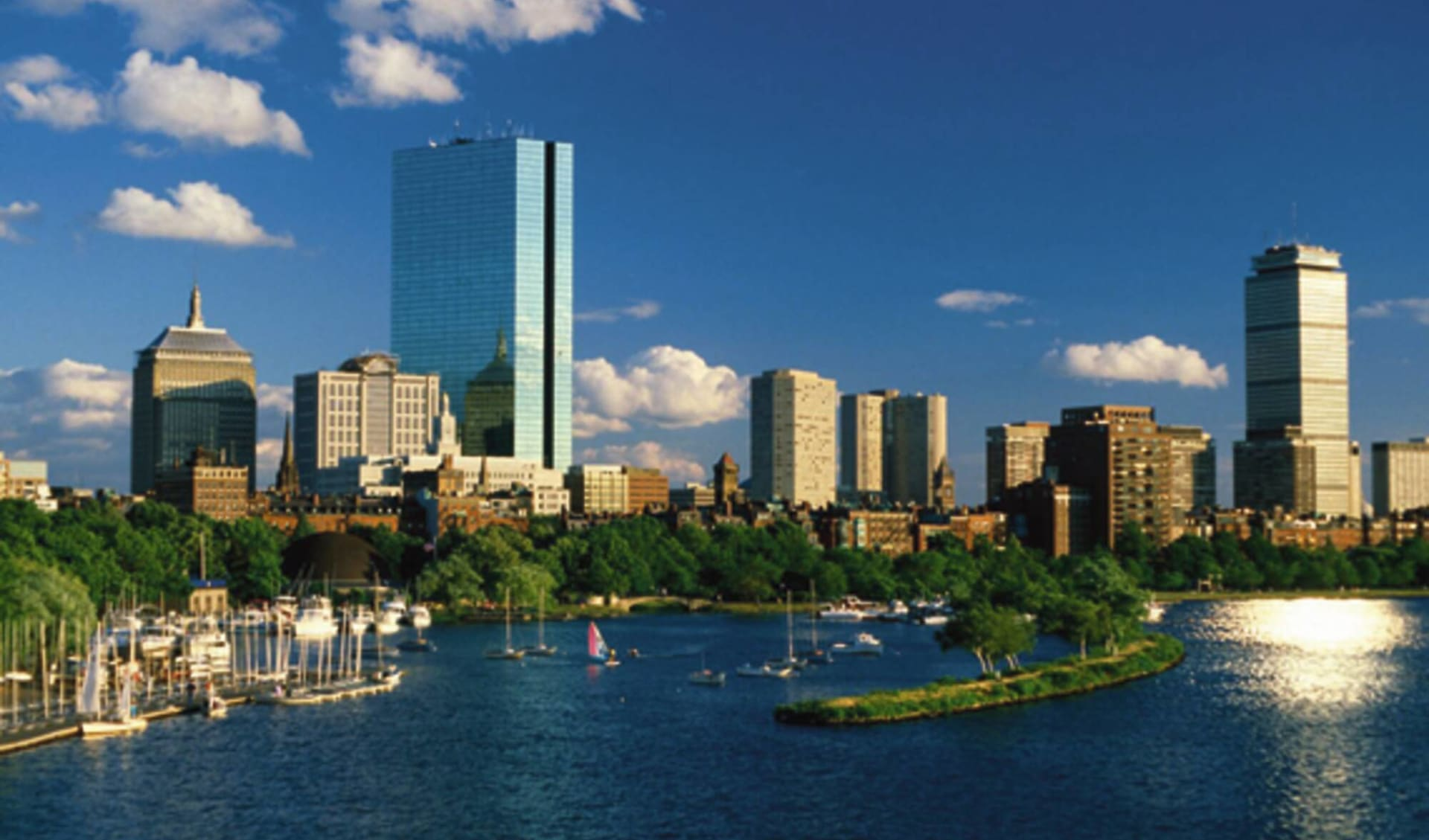 Charming New England ab Boston: USA - Massachusetts - Boston Skyline