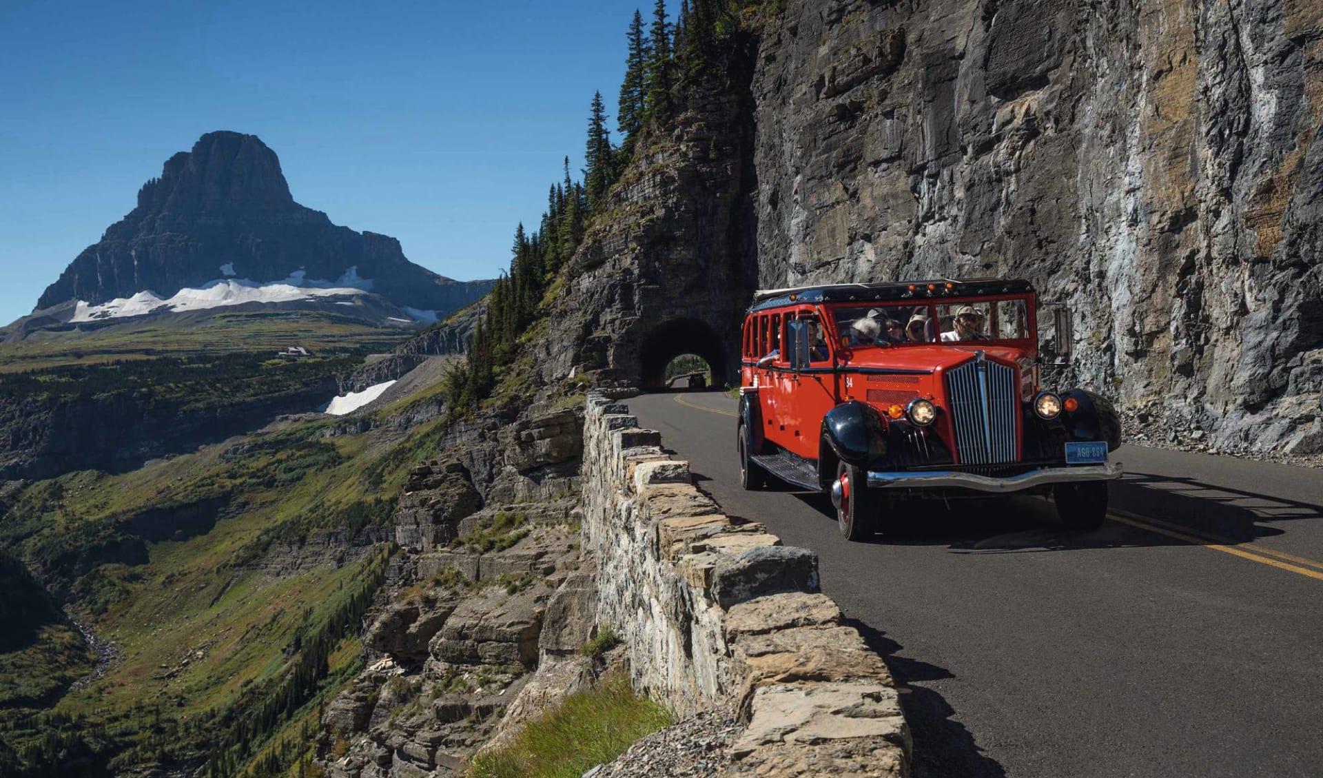 Auf den Spuren des Wilden Westens ab Rapid City: USA - Montana - Glacier Nationalpark