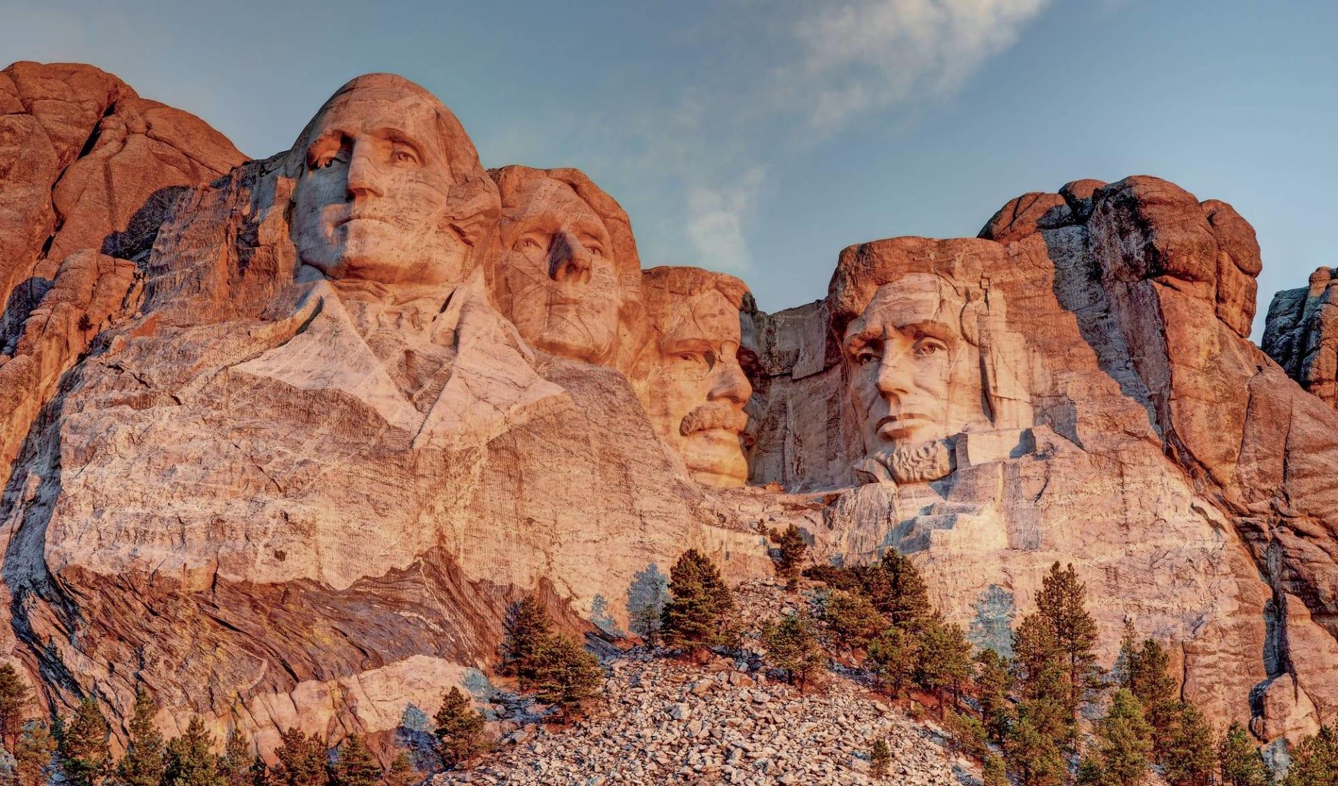 Rocky Mountain Frontiers ab Denver: USA - South Dakota - Mount Rushmore
