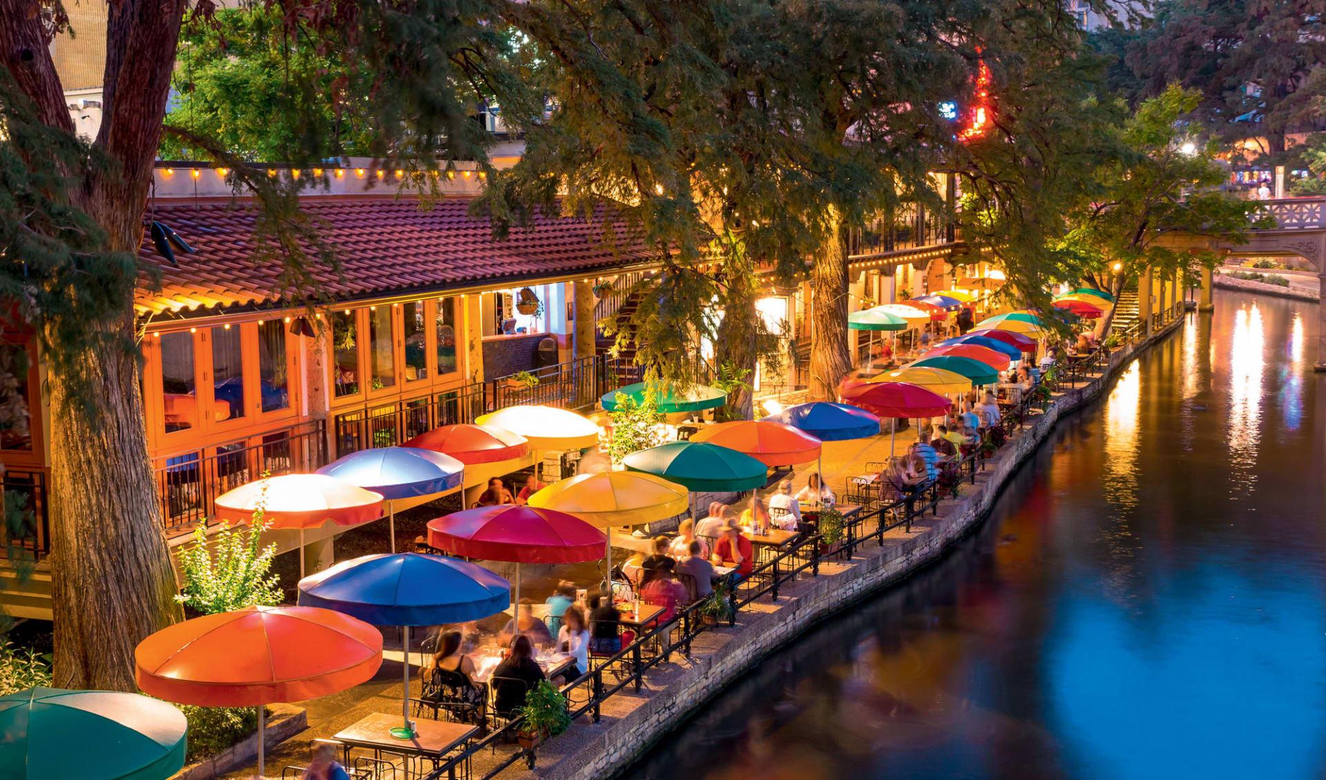 Texas and beyond ab Houston: USA - Texas - San Antonio Riverwalk