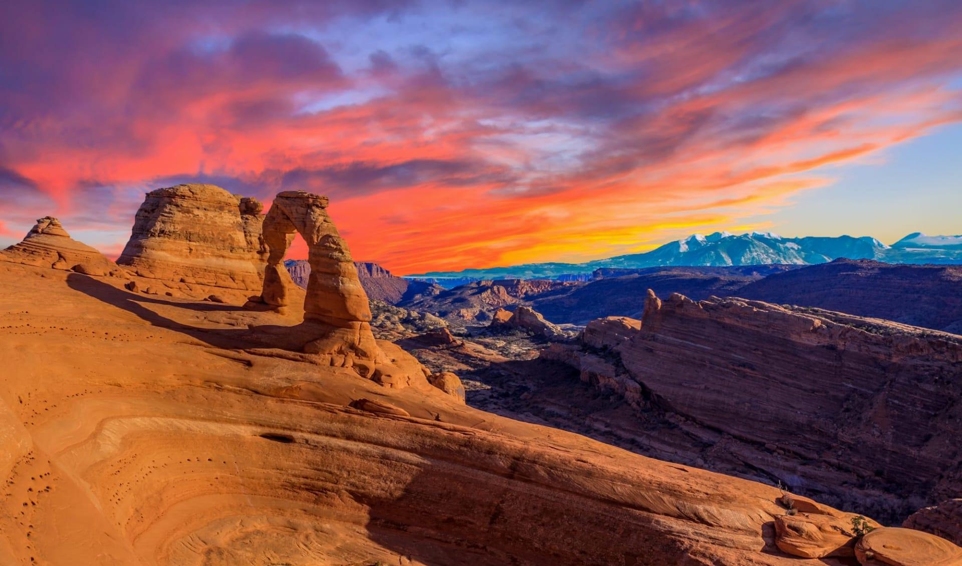 Nationalparks Explorer ab Las Vegas: USA - Utah - Arches Nationalpark