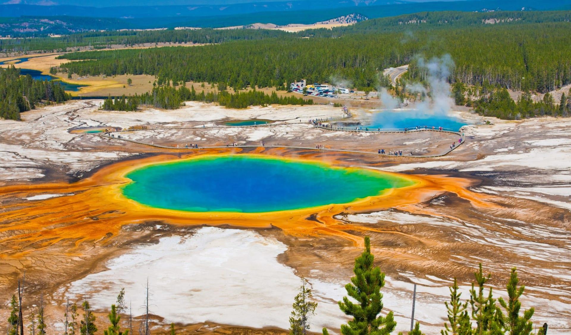 Northern Utah & Yellowstone ab Salt Lake City: Yellowstone Nationalpark
