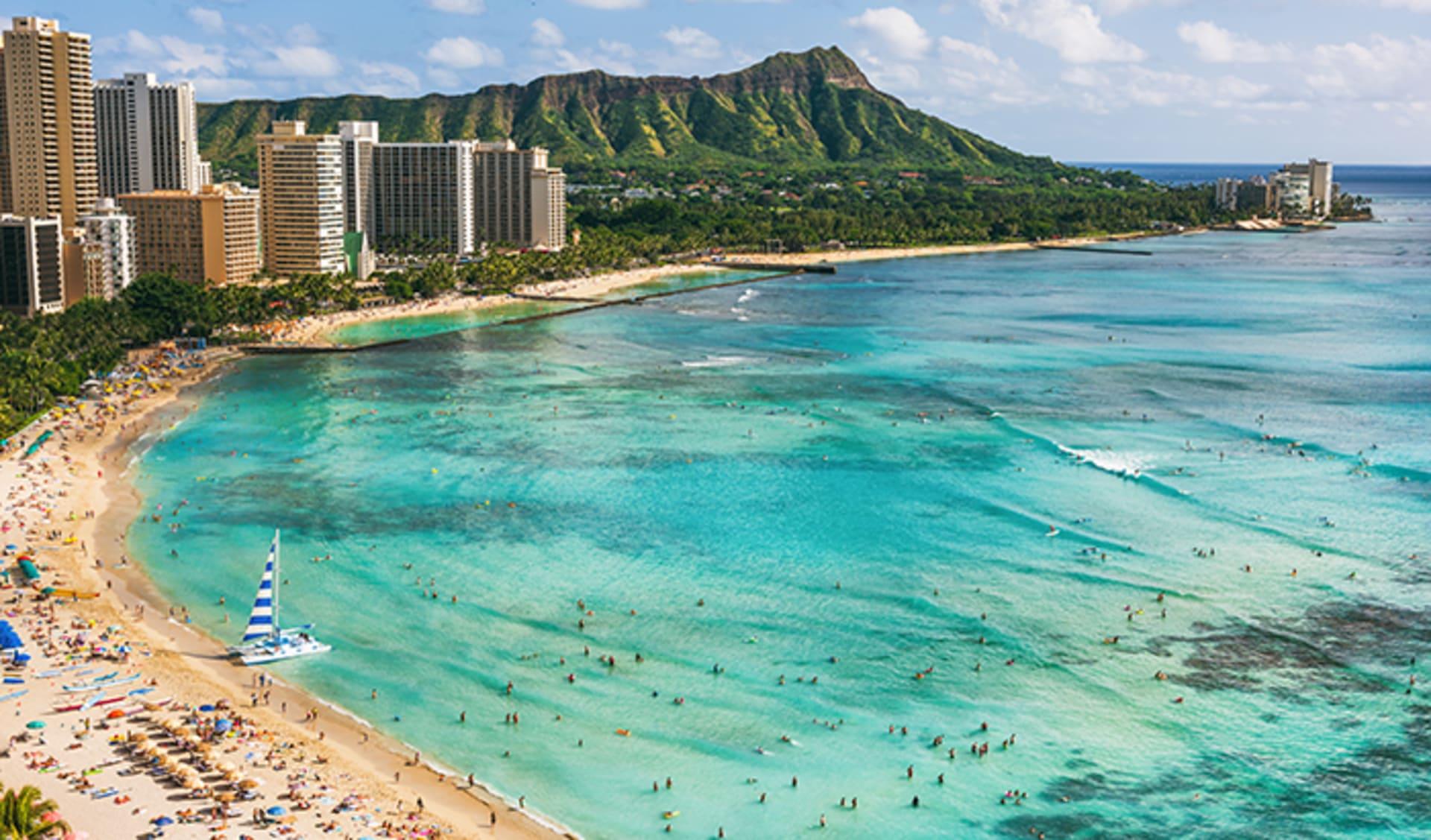 Hawaii Oahu Reisen, USA