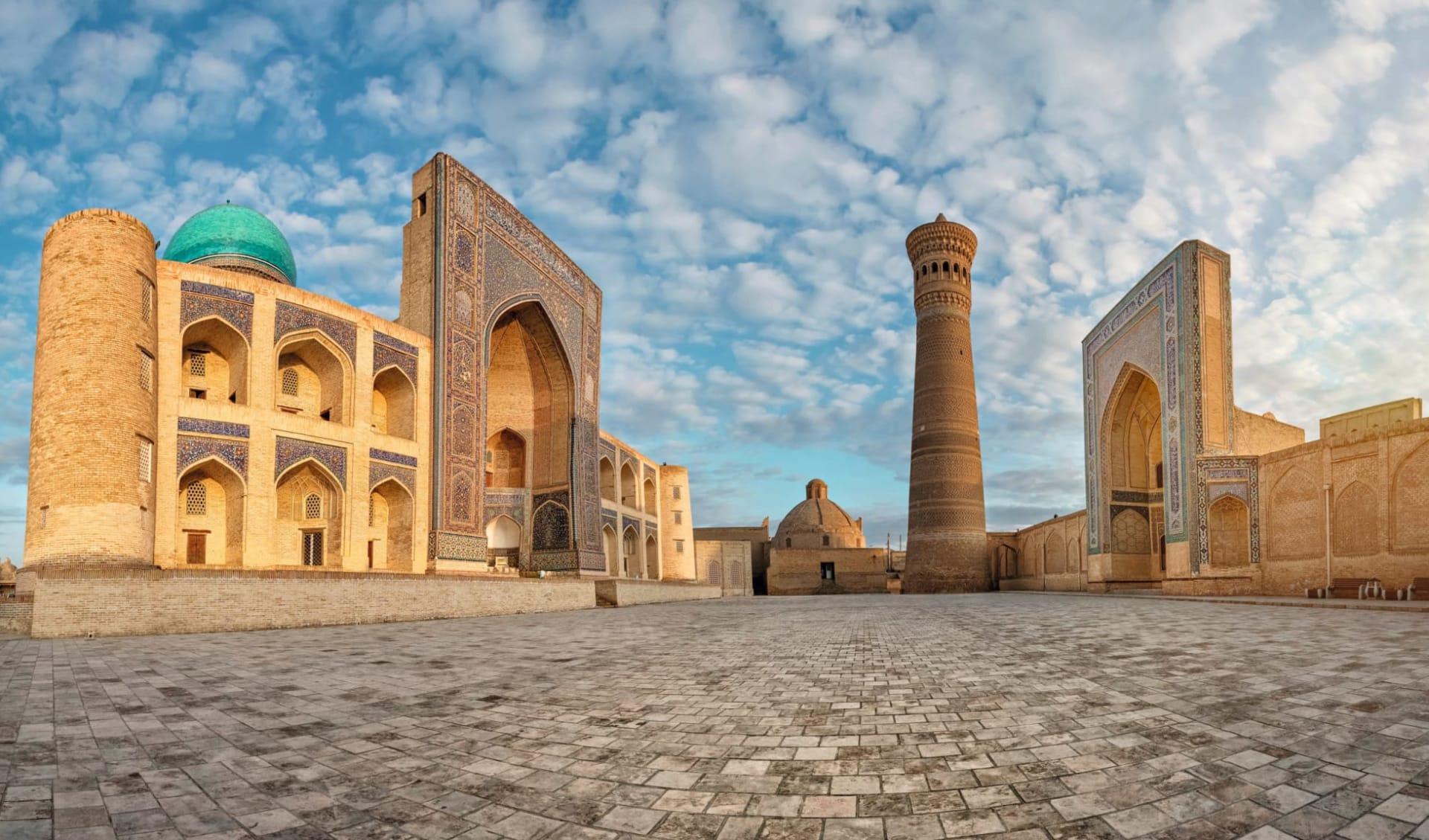 OSRE Sagenhaftes Usbekistan ab Taschkent: Usbekistan_Buchera_