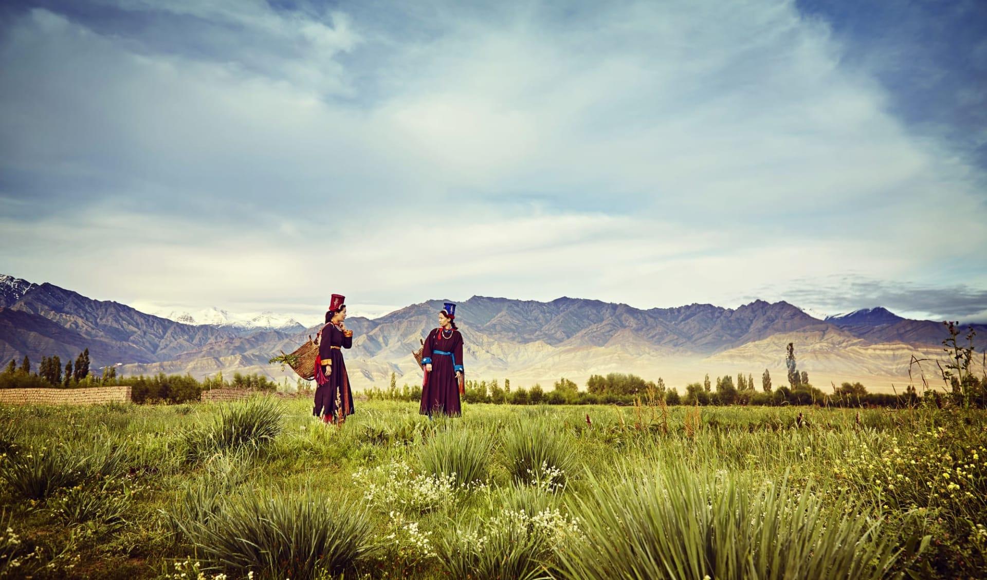 Ladakh luxuriös ab Leh: village-walk