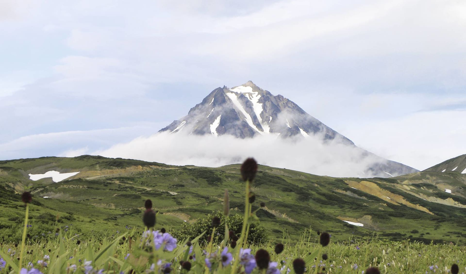Vulkane, Geysire und Bären ab Petropawlowsk-Kamtschatka: Vulkane, Geysire und Bären_Mutnovsky-Vulkan