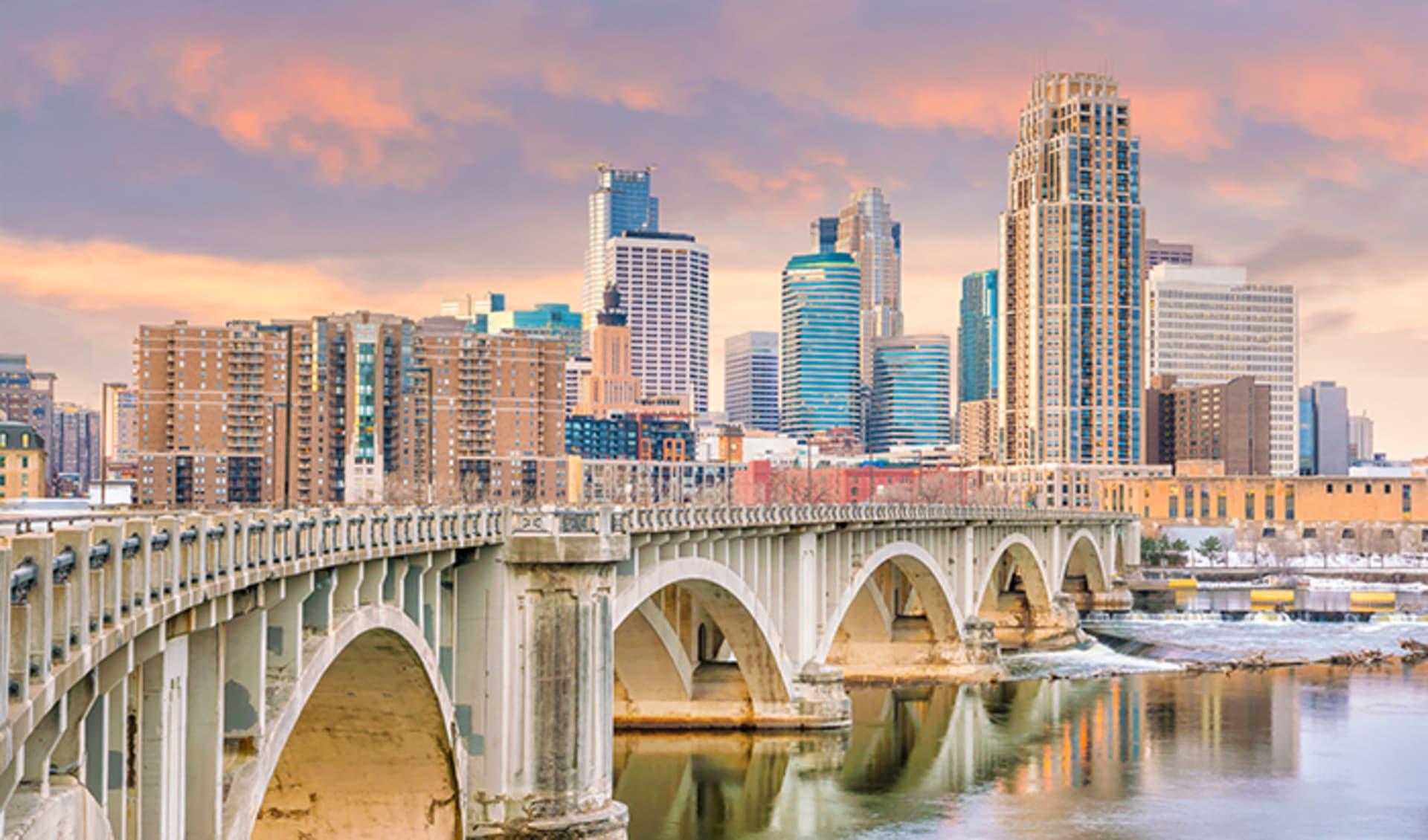 USA, Mittlerer Westen, Minneapolis