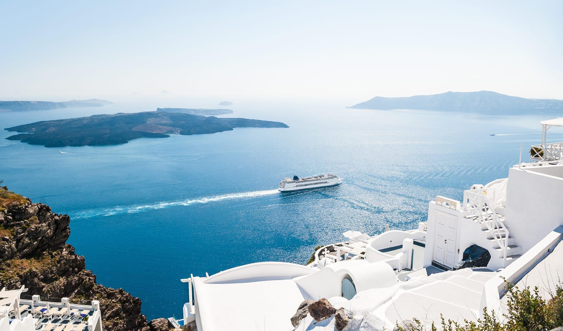 Westliche Östliches Mittelmeer Kreuzfahrten
