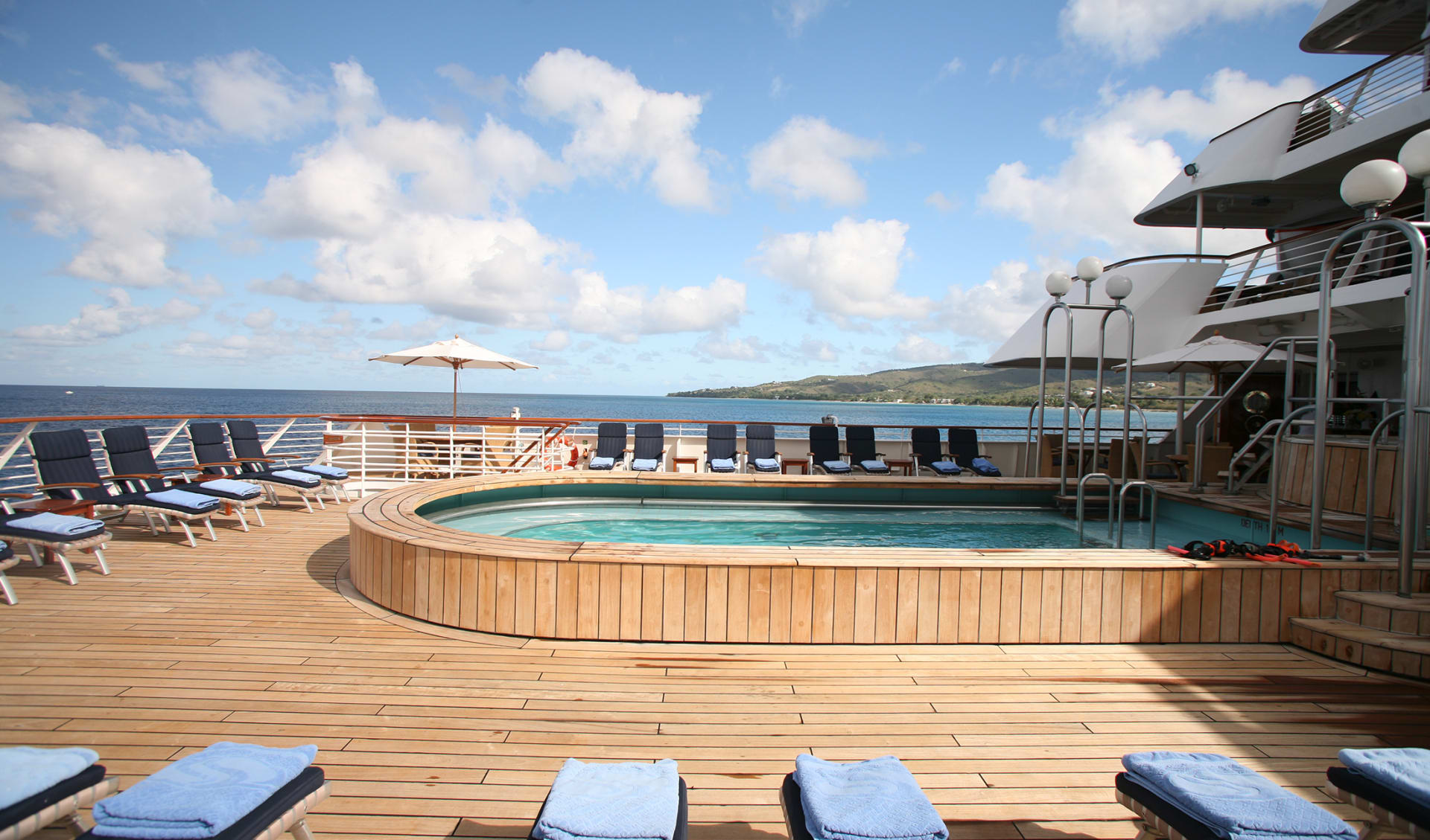 Seabourn Kreuzfahrt Pool