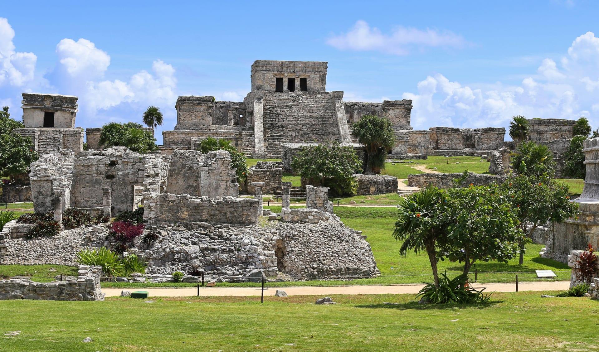 Maya Ruinen, Mexico
