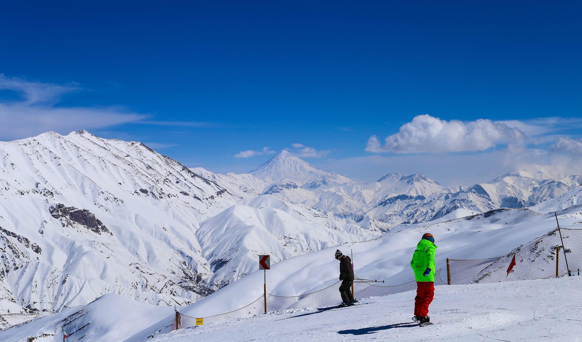 Ski- und Winterferien, Hamedgha, Iran