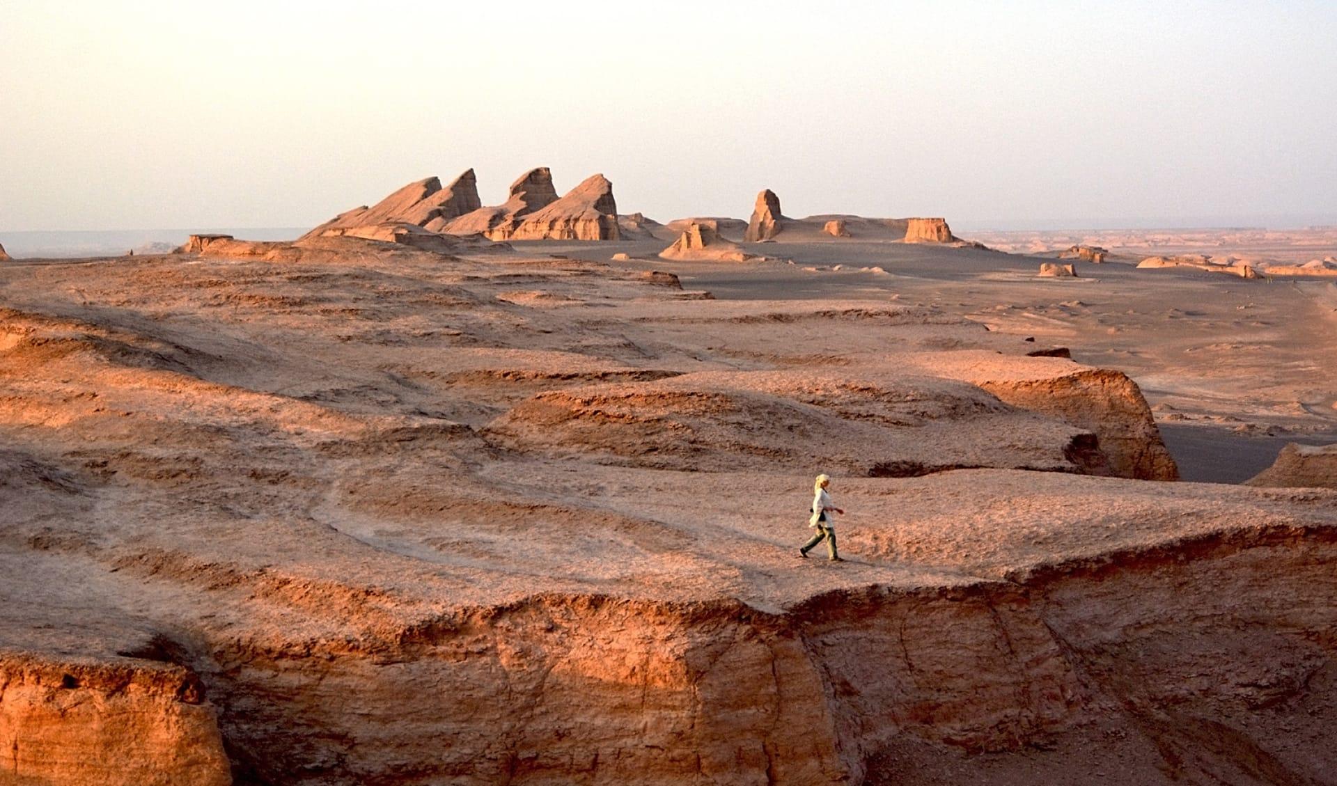 Lut Wüste, heißeste Wüste der Welt, Iran