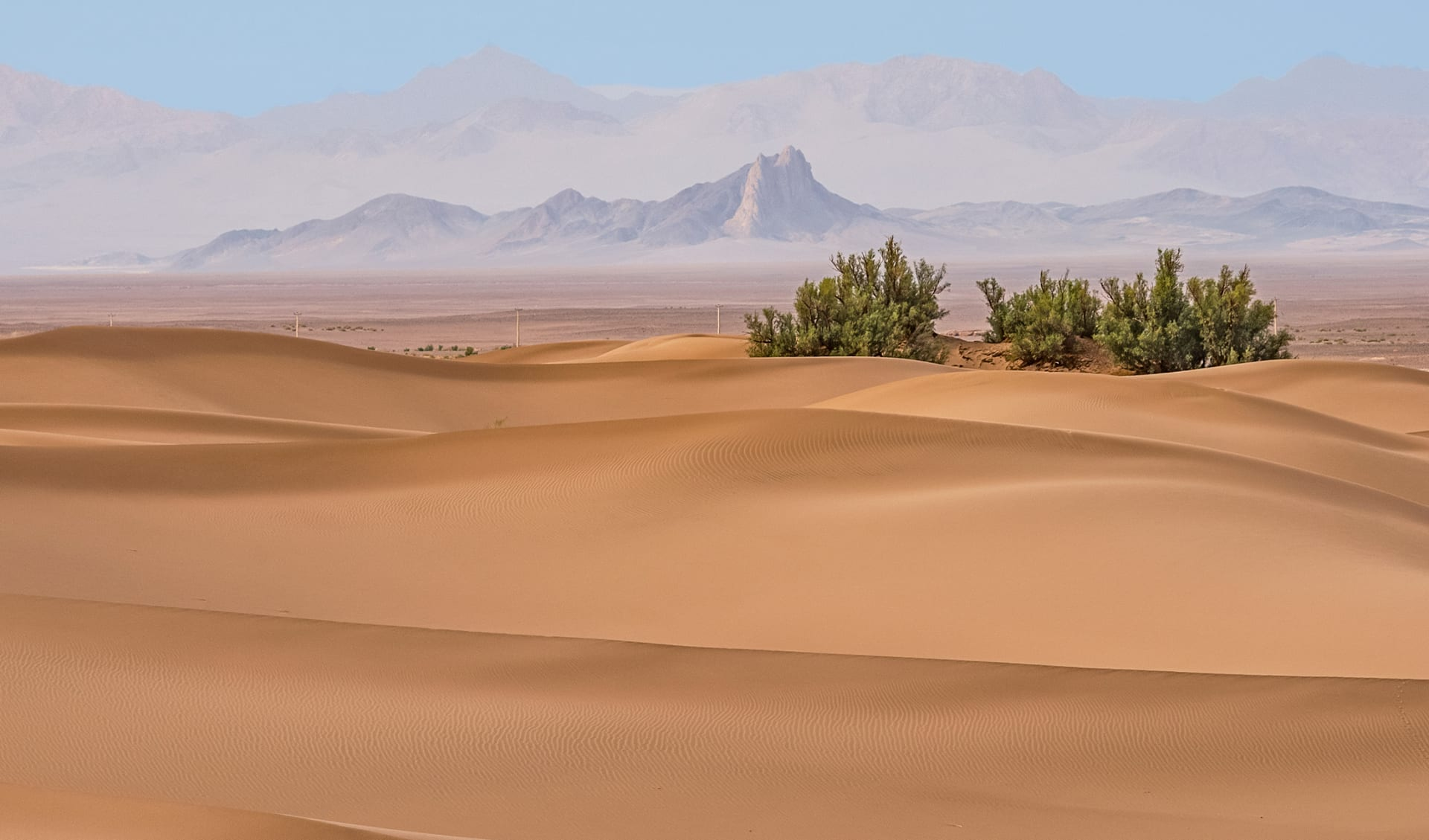 Kalut Wüste, Iran