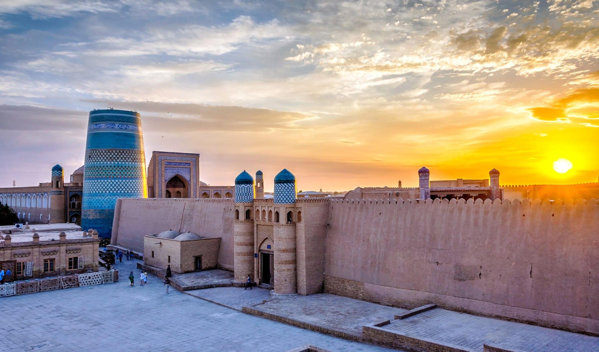 Khiva, Itchan Kala, Usbekistan