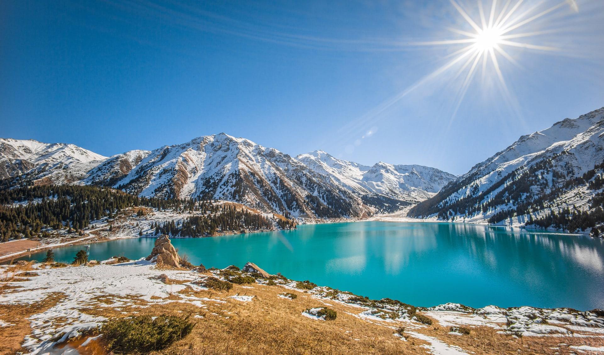 Tien Shan Gebirge, Almaty, Kasachstan