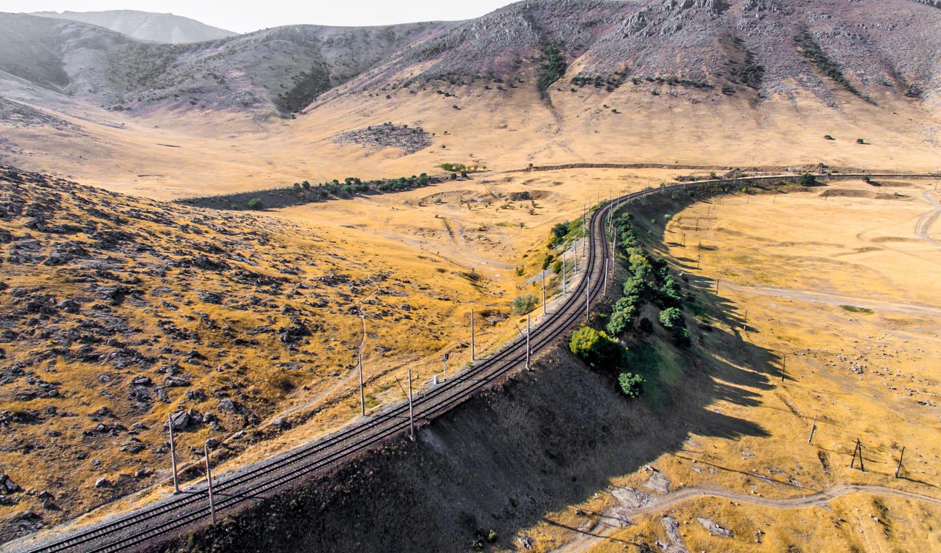 Bahnreise, Turkmenistan