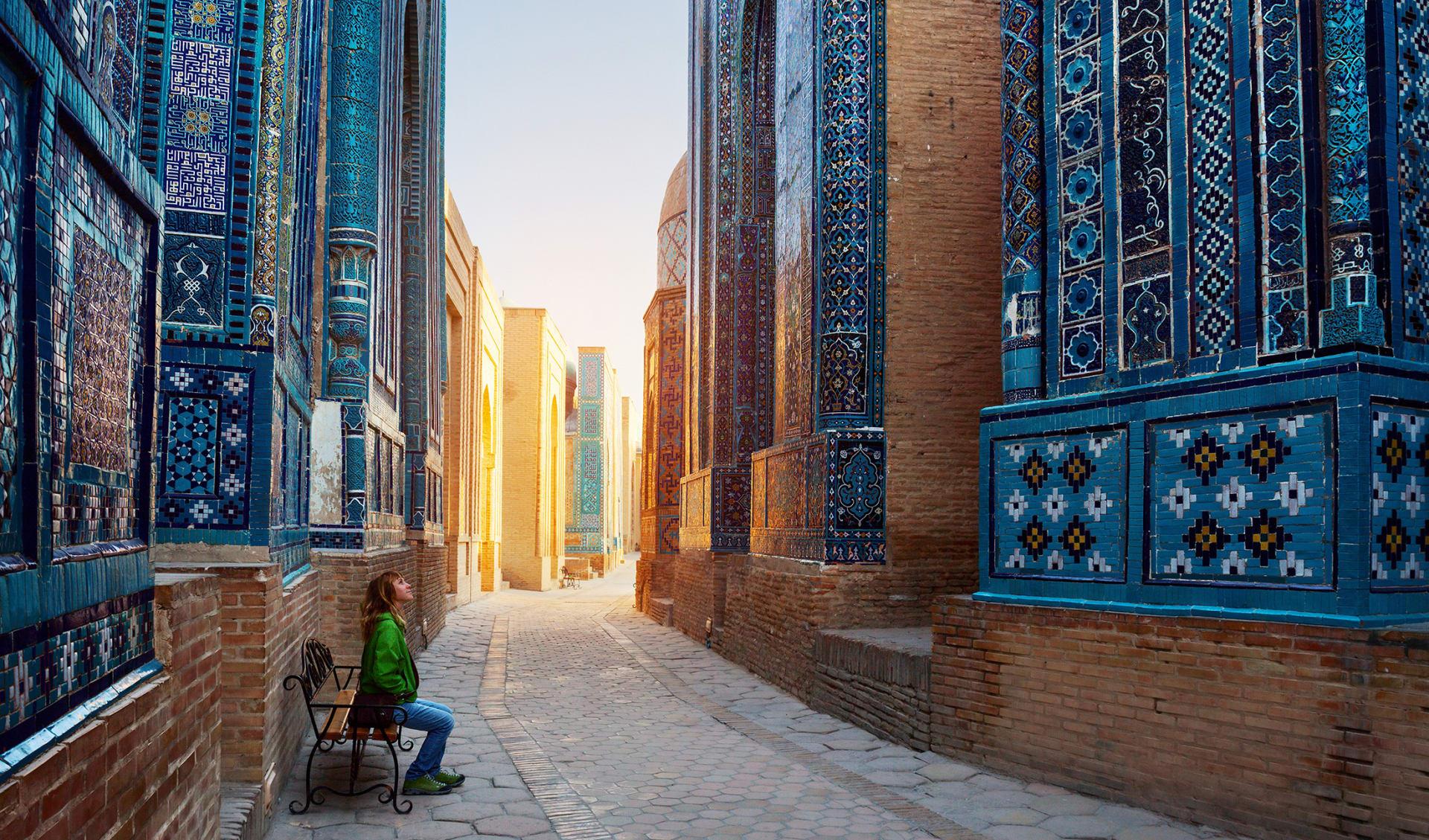 Shah-i-Zinda, Samarkand, Usbekistan