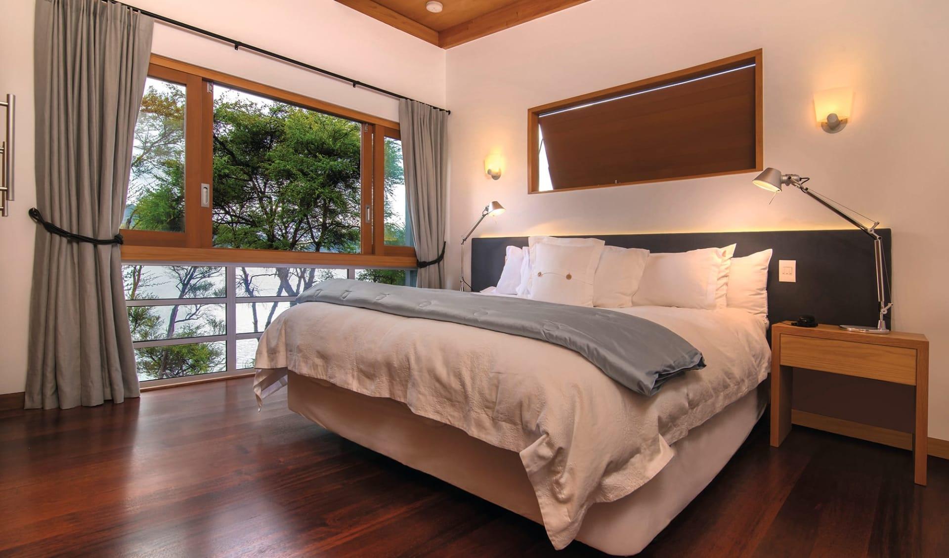 Bay of Many Coves Resort in Marlborough Sounds: Zimmer Bay of Many Coves Marlborough Sounds Neuseeland- Kereru Suite