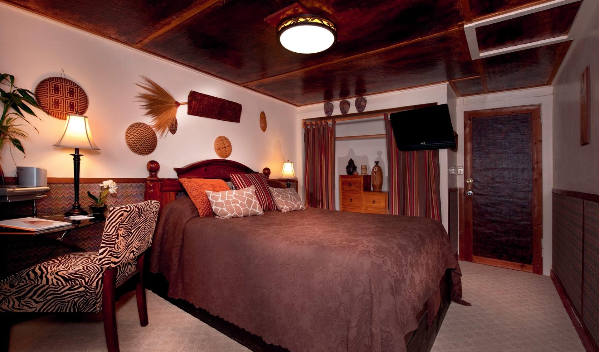 Chalet Kilauea- Hotel in Hawaii Volcanoes National Park: zimmer chalet kilauea hotel africa room