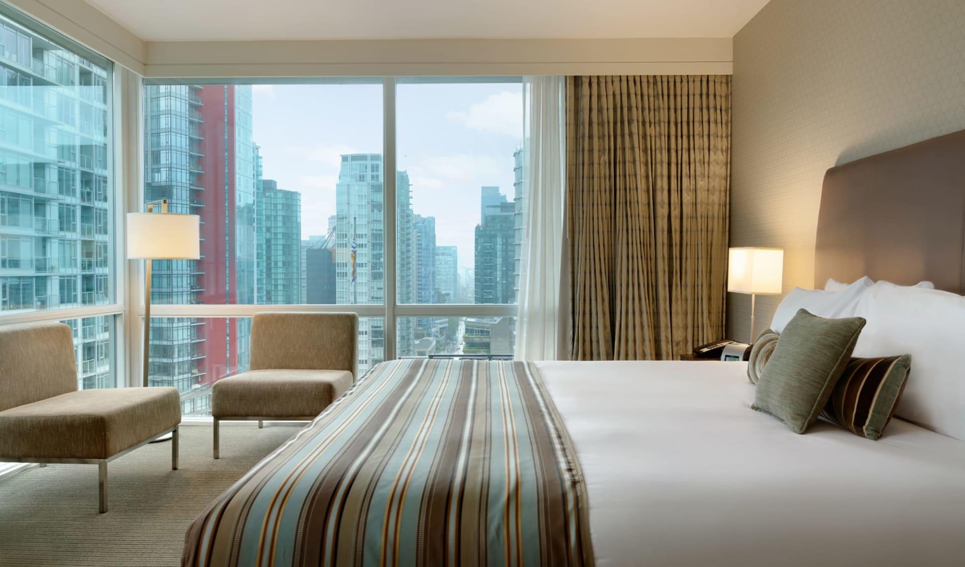 Coast Coal Harbour Vancouver Hotel by APA: Zimmer_Coast Coal Harbour_Comfort Room2_Jonview