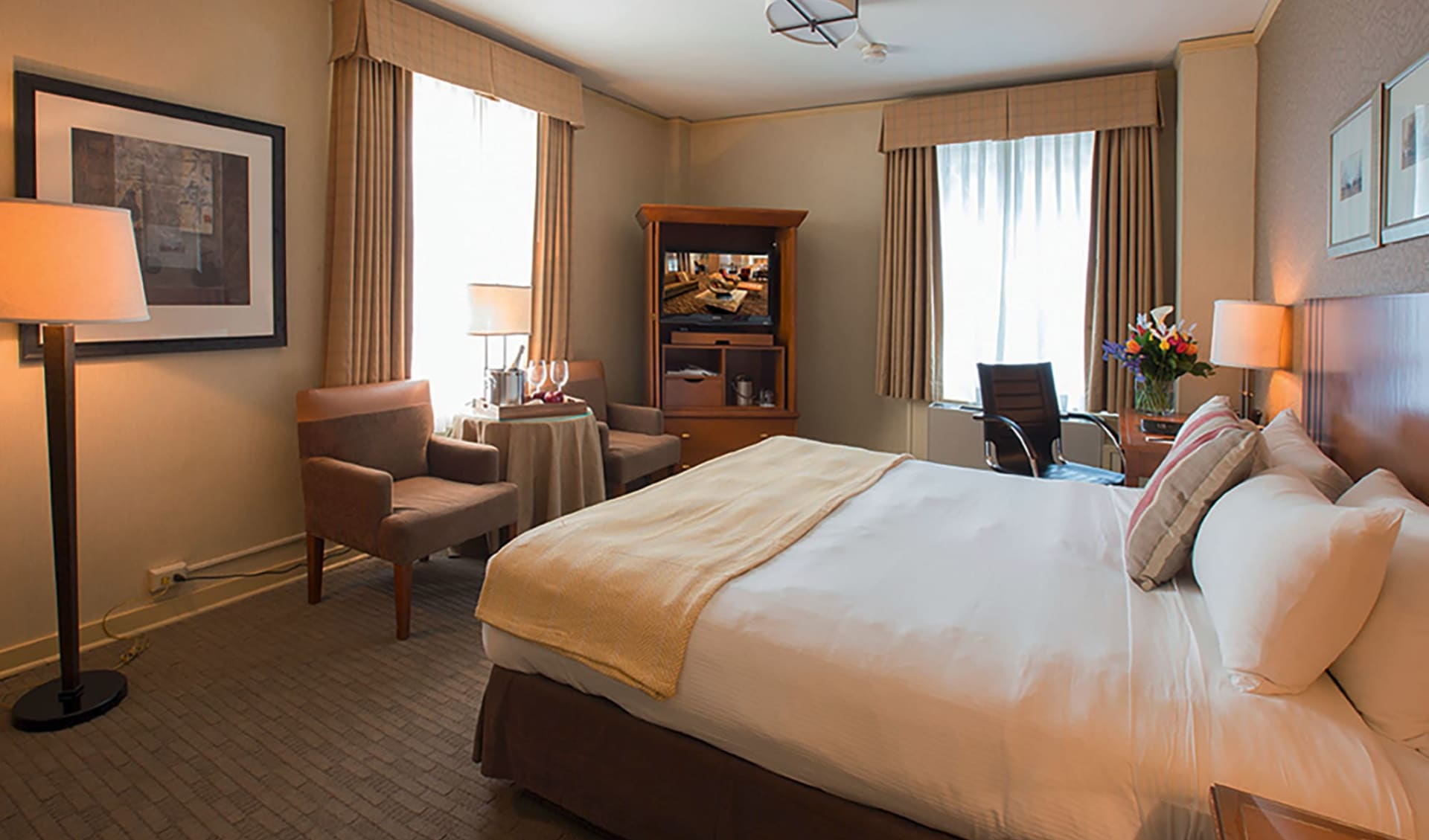 Executive Hotel Pacific in Seattle: zimmer executive hotel pacific doppelzimmer