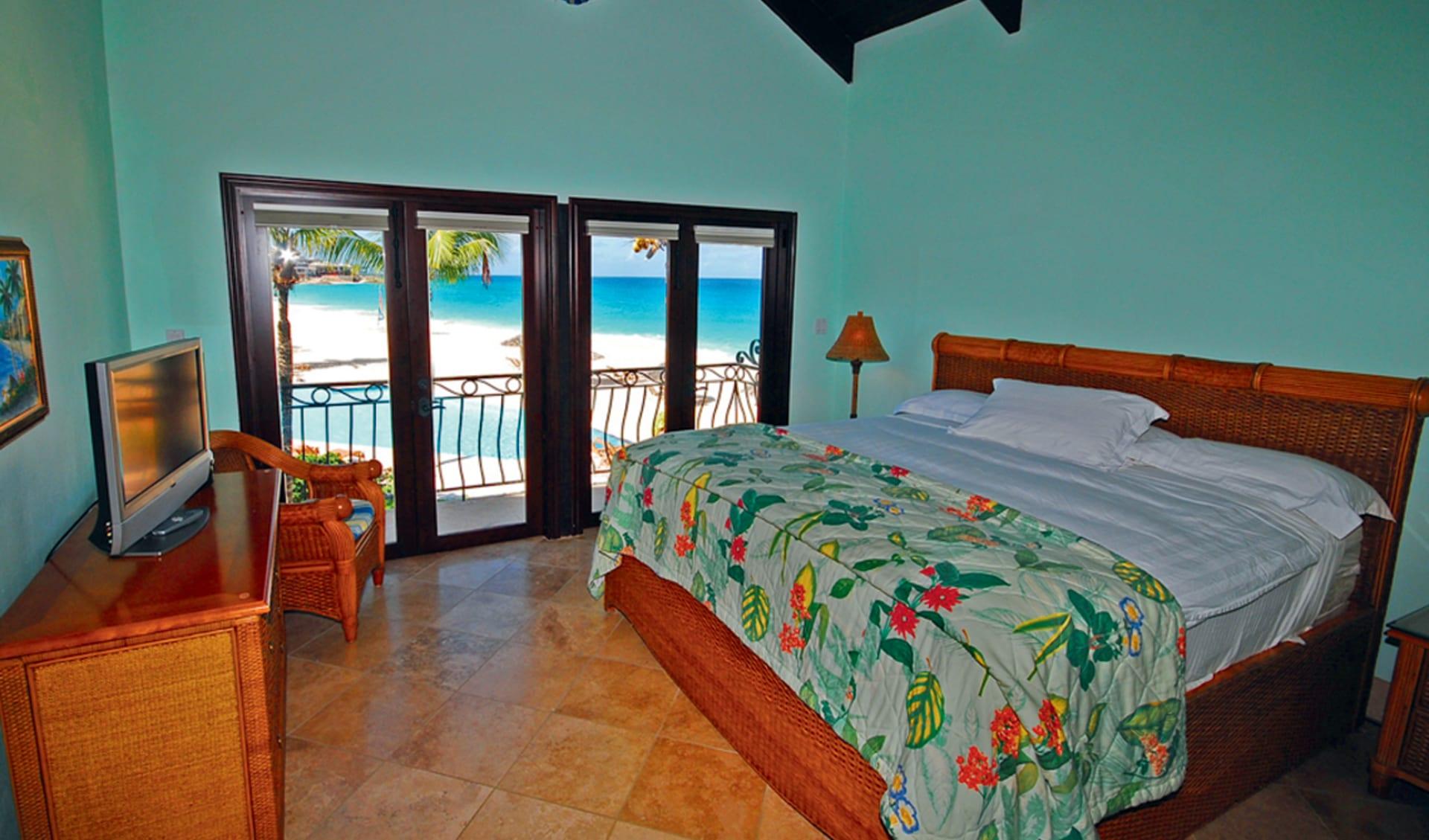 Frangipani Beach Resort in Meads Bay: zimmer frangipani beach resort doppelzimmer