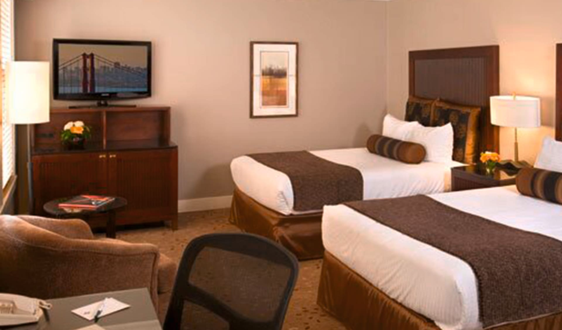 Handlery Union Square in San Francisco: zimmer handlery union square hotel doppelzimmer
