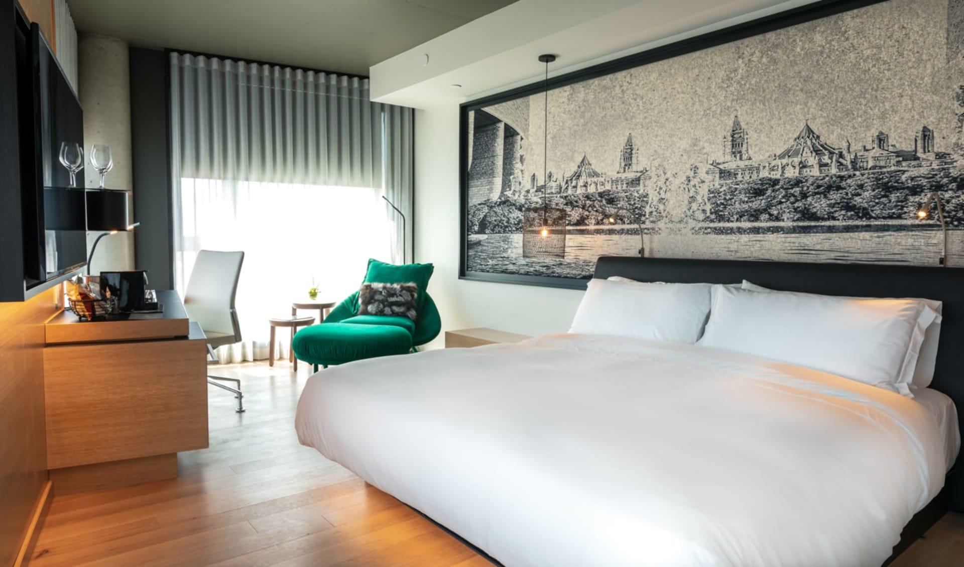 Le Germain Hotel Ottawa: Zimmer_Le Germain Ottawa_Classic Room_Jonview