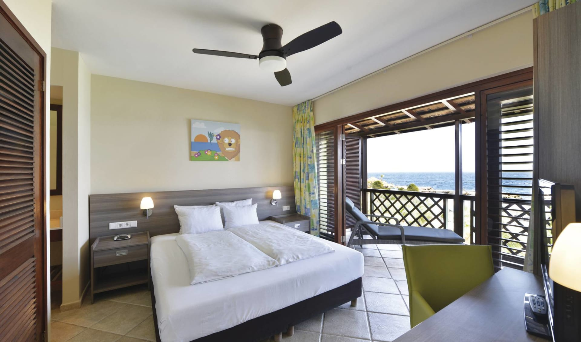 Lions Dive Beach Resort in Curaçao: zimmer lions dive and beach resort doppelzimmer
