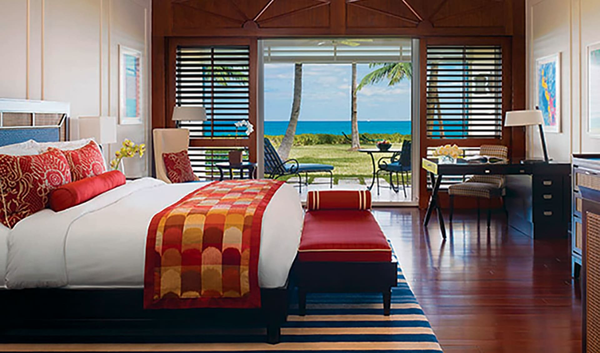 The Ocean Club (Four Seasons) in Paradise Island: zimmer one and only ocean club doppelzimmer meerblick