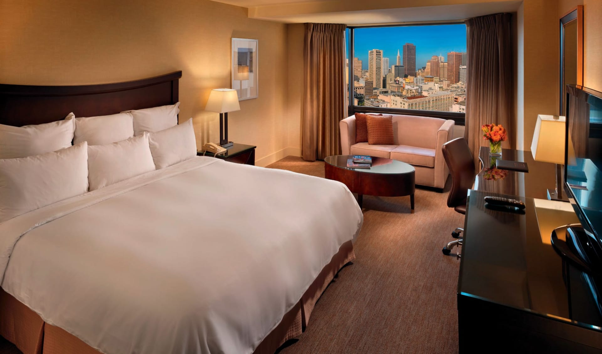 Parc 55 San Francisco: zimmer parc 55 san francisco a hilton hotel doppelzimmer