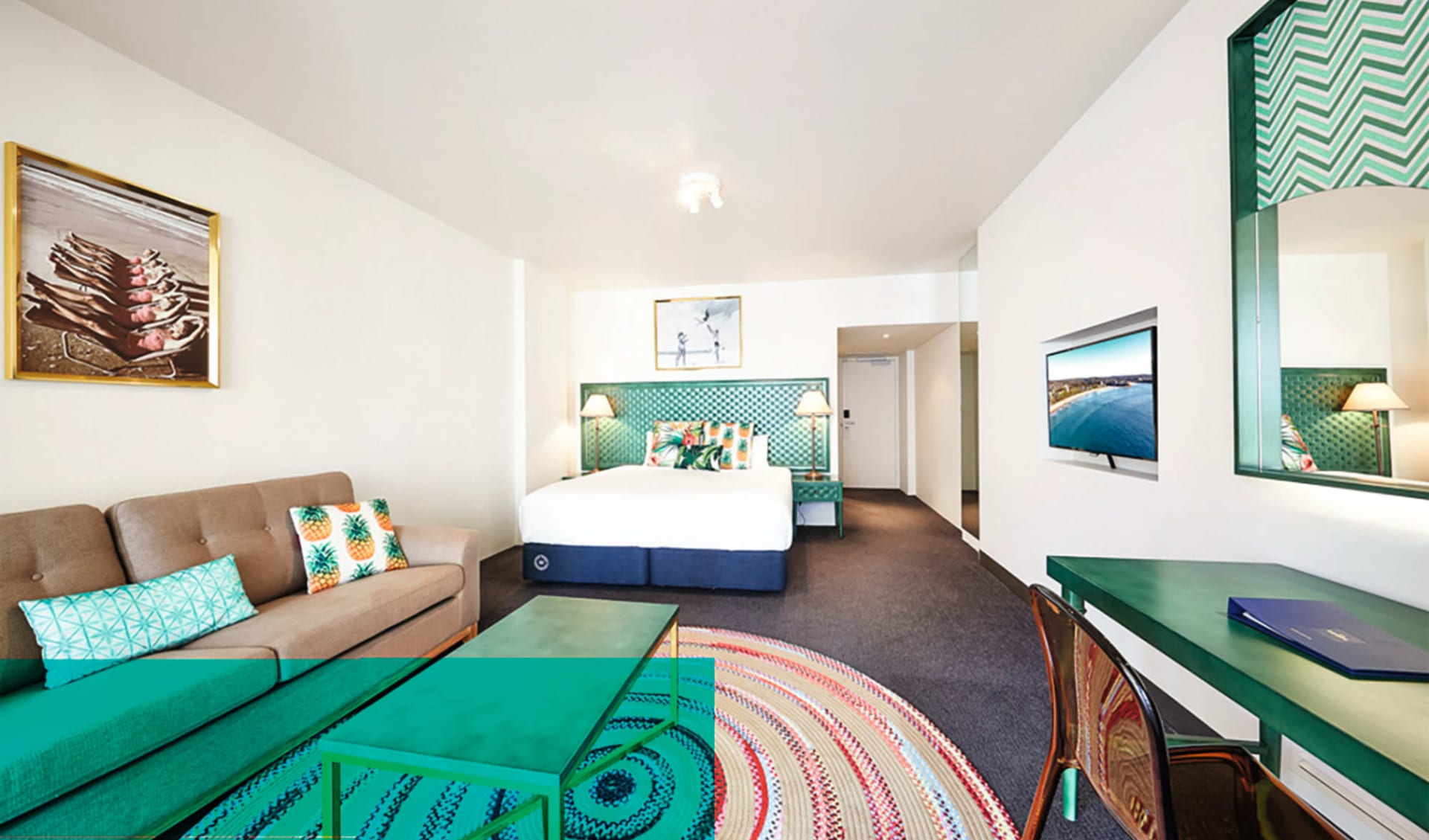The Sebel Manly Beach in Sydney - Manly: Zimmer The Sebel Manly Beach Manly Beach New South Wales Australien  Superior room 2018