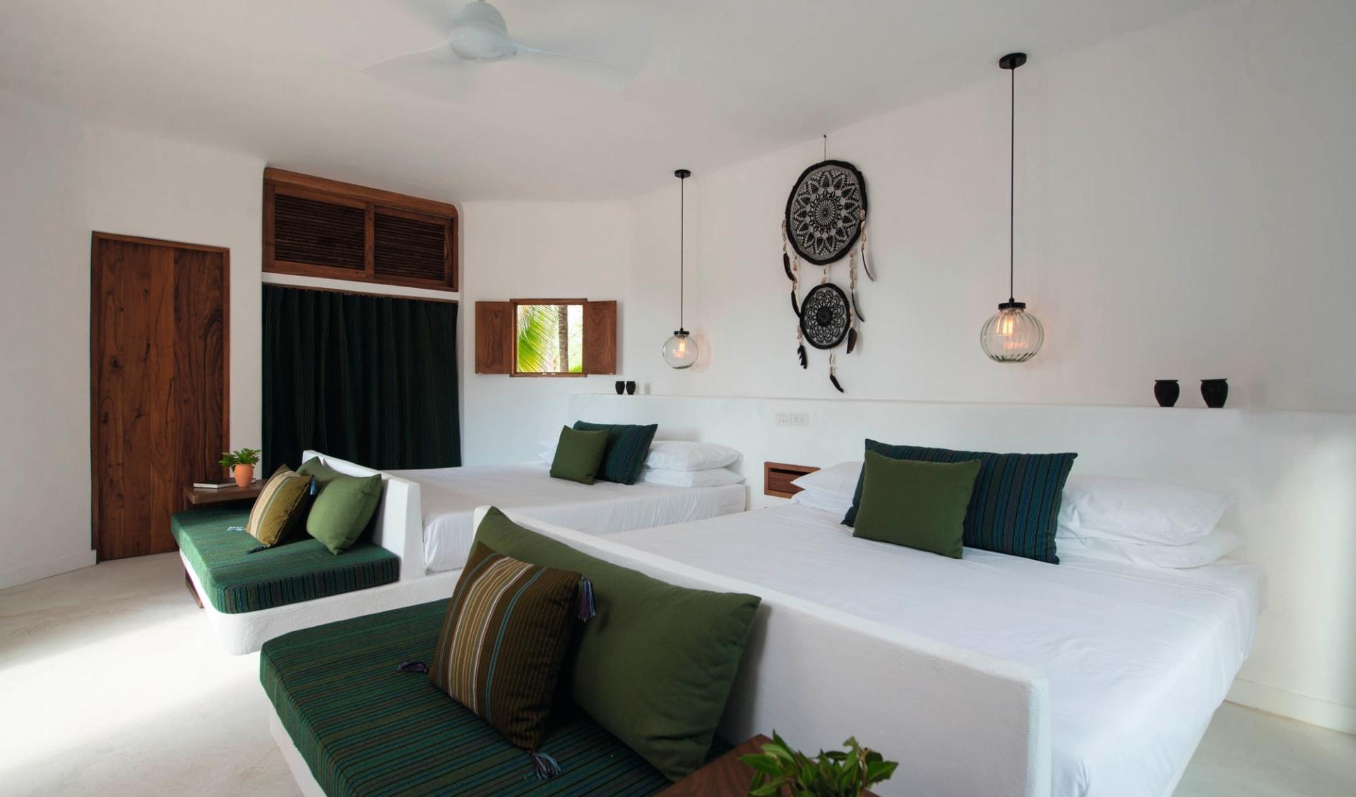 Villas HM Palapas del Mar in Isla Holbox: Zimmer Villas Palapas del Mar - Junior Suite Superior
